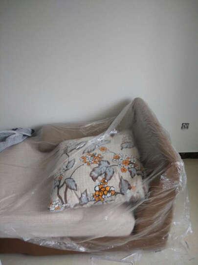 双虎(SUNHOO) 田园床家具套装成套板式家具卧室双人大床套餐组合13M1 1.5米床+床头柜*2+13M1四门衣柜+舒梦床垫 晒单图