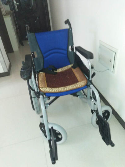BEIZ 贝珍 电动轮椅车  老年人残疾人代步车 手动电动两用    BZ-6111 铅酸电池12安 晒单图