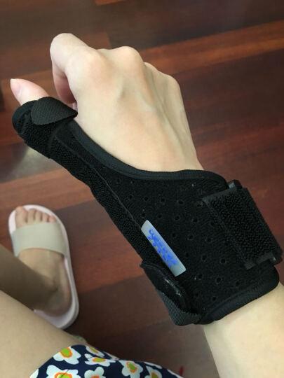zeazen 益森腱鞘炎护腕鼠标手妈妈手大拇指护手护具康复手腕扭伤固定腱鞘囊肿医用 黑色标准款 均码 晒单图