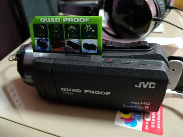 杰伟世(JVC)GZ-R420BAC 四防高清摄像机DV 家用户外运动 黑色 晒单图