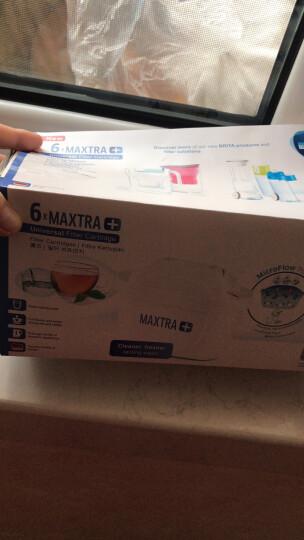 【买2免1】碧然德(BRITA)过滤净水器 家用滤水壶 净水壶滤芯 Maxtra双效滤芯 6枚装 晒单图