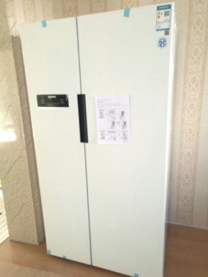 西门子(SIEMENS)610升 变频风冷对开门冰箱 独立并联双循环 (白色)BCD-610W(KA92NV02TI) 晒单图