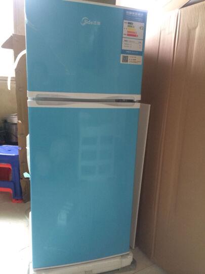 吉德(Jide) BCD-132E 132升 小冰箱 家用双门冰箱 小型迷你电冰箱 天际蓝 晒单图
