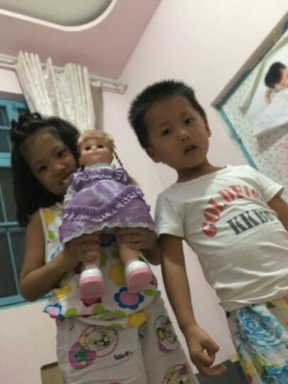 超级逗逗 会说话的智能娃娃 儿童玩具女孩洋娃娃 时尚关节款5号 晒单图