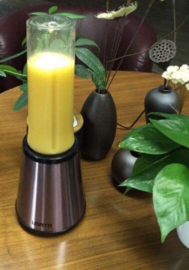 御尚堂(USATA)粉萌限量版 便携式榨汁机 家用果汁机辅食搅拌机 限量版双杯装 晒单图