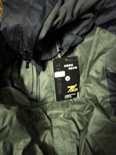 狼爪大卫WOLFCZUADAWEI冲锋衣男女 内胆外套可拆卸 户外登山西藏旅游防风防雨 552男/大红色 XL 晒单图