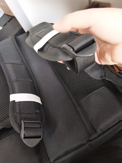 稻草人MEXICAN双肩包男14/15.6英寸大容量笔记本电脑包多功能旅行出差背包防泼水商务休闲学生书包50470黑色 晒单图