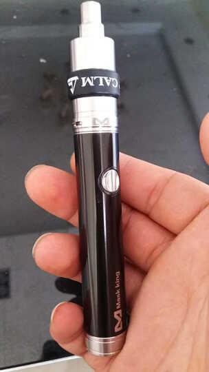 Mask king (MK) 电子烟套装Guardian守护者大烟雾蒸汽戒烟产品 下单送烟油10ml 枪黑色 晒单图