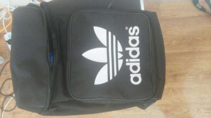 阿迪达斯(Adidas)电脑双肩背包 深紫罗兰色 AB2690 晒单图