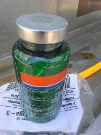 Biopharma 挪威正品浓缩深海鱼油胶囊  调节三高软化血管鱼肝油软胶囊 深海鱼油胶囊2瓶装 晒单图