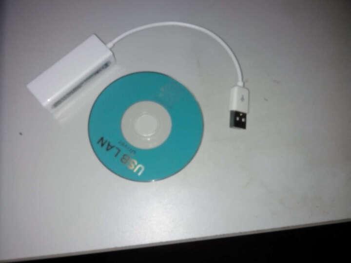 金翅  USB有线百兆网卡外接以太网转换器带3口hub分线器集线器 笔记本台式机外置网卡 USB网卡增强版+2米网线 晒单图