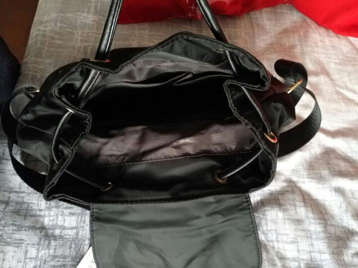 GOLF双肩包女新款时尚防水锦纶女士新品背包女新款多功能耐磨女包 军绿色 晒单图
