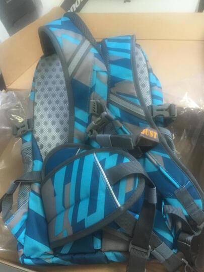JUST GO初中学生书包男女生4-5-6年级小学生减负护脊减压双肩透气背包 蓝色地图 蓝色 晒单图