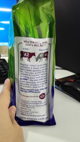 a2 成人全脂奶粉 含β-酪蛋白儿童学生成人中老年饮品 1kg*2袋 晒单图