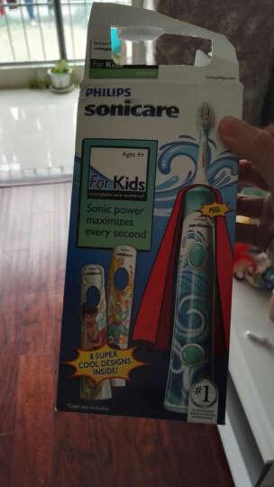 飞利浦(PHILIPS) 欧美进口飞利浦sonicare充电式超声波电动牙刷成人牙刷儿童 健康白HX8911/02单支装(8899) 晒单图