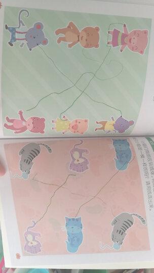 幼小衔接阶梯教程幼儿园教材宝宝数学启蒙绘本 3-4-5-6岁早教智力开发书籍 儿童思维训练书籍游戏 学前1280字4册 晒单图