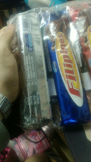 西班牙进口 FILIPINOS 巧圈圈 黑/白/牛奶巧克力脆3味乐享装 405g 晒单图