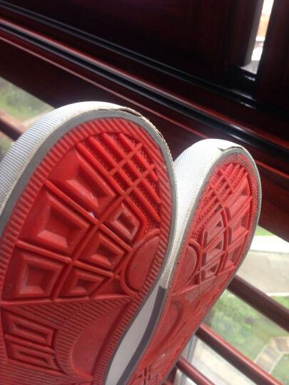 2017新款小白鞋男童儿童帆布鞋童鞋秋季韩版潮休闲女童鞋板鞋 黑色 32/内长19.5cm 晒单图