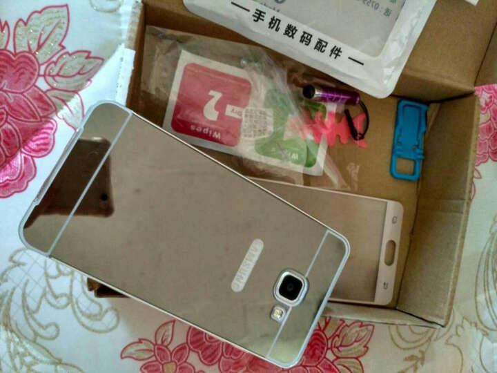 蓝琼手机壳金属边框保护外壳手机套 适用于三星A7100/2016版a5/a7/A5100 三星A5100-镜面版-气质银-5.2英寸 晒单图