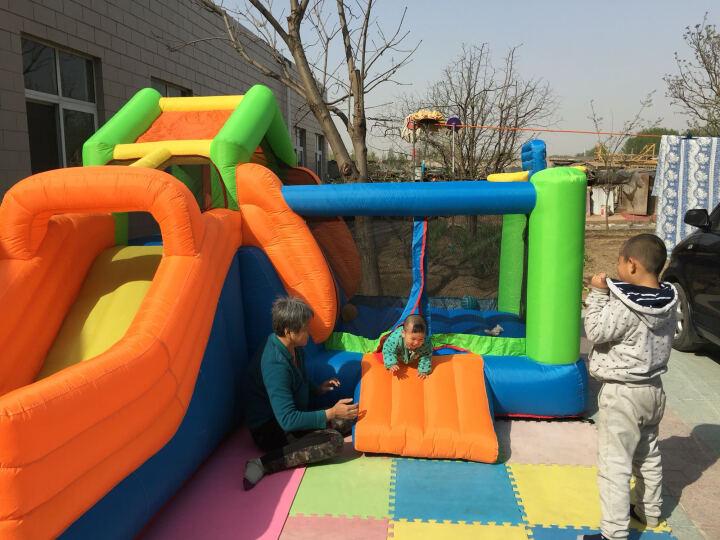 博士豚 儿童充气滑滑梯城堡蹦蹦床淘气堡游乐场幼儿园大型玩具 晒单图