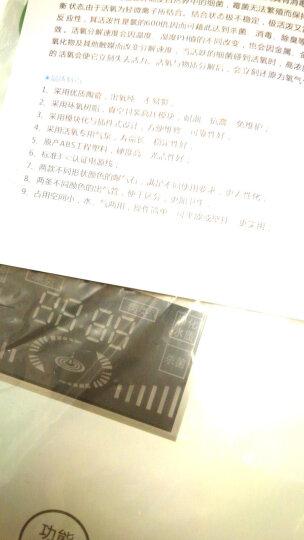 小福熊 多功能家用洗菜机 臭氧机活氧果蔬清洗机解毒机去农残 YJ-612 皓月白 晒单图
