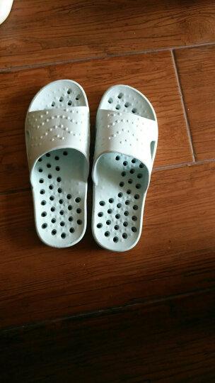 恋家 情侣漏水浴室拖鞋 按摩凉拖鞋女款 天蓝39/40码 TC707 晒单图