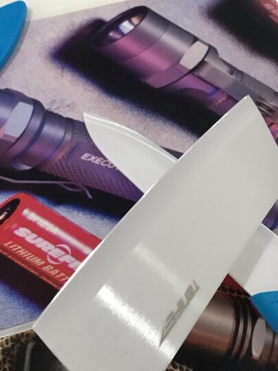 途耐(TONIFE) TONIFE途耐 雅致6寸纳米氧化锆陶瓷菜刀 切片刀 中式菜刀 切肉刀 蓝色 晒单图