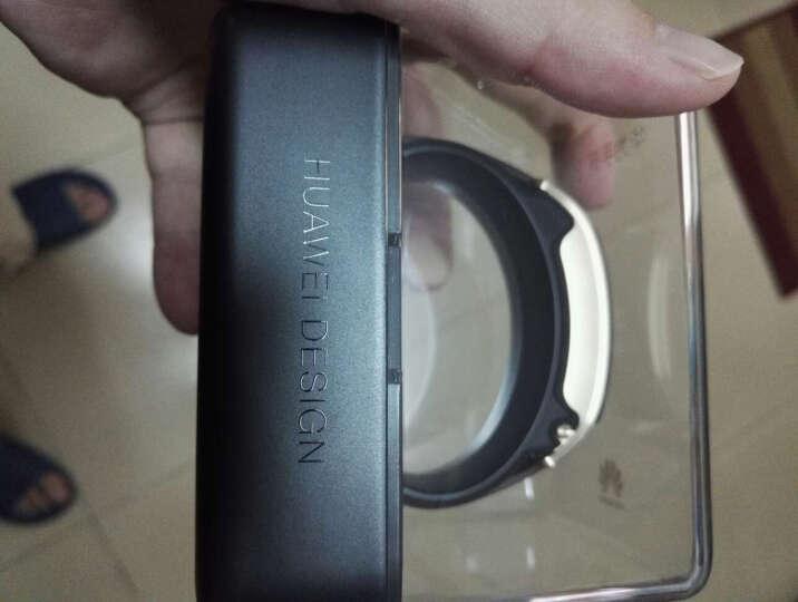 华为(HUAWEI) 智能运动手环B5心率监测蓝牙通话科学睡眠穿戴男女计步器B3升级版手表手环 钛金灰时尚版 晒单图