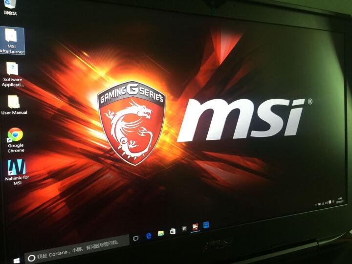 微星(MSI)GT80S 6QE-217CN 18.4英寸游戏笔记本电脑(i7-6820HK 32G 512G+1T 双GTX980M WIN10)黑色 晒单图