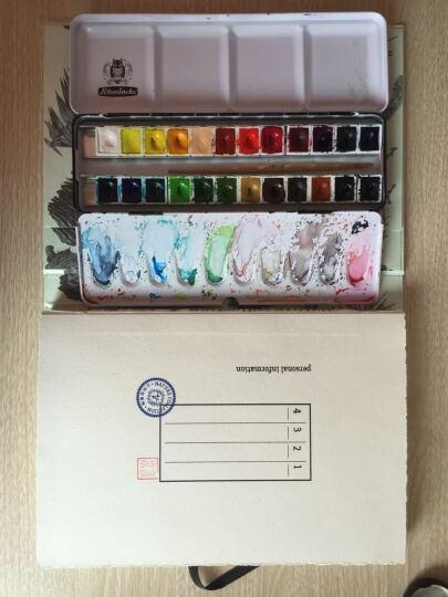 自然收集物@九口山速写本B5限量空白笔记本 白纸小清新彩铅手绘本 夏天浅 晒单图