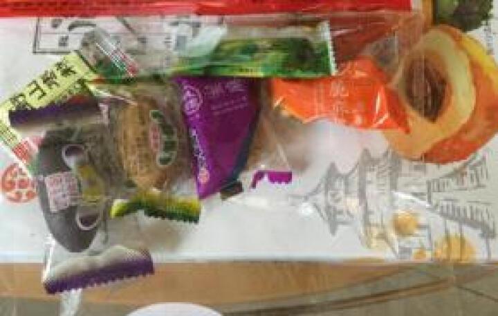 御食园 【北京果脯1600g礼袋】北京特产礼盒  8盒装 蜜饯水果干桃梨枣海棠苹果杏红果 晒单图