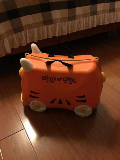 KO SHENG 儿童行李箱旅行箱可坐拖拉玩具骑行小孩宝宝个性拉箱子儿童圣诞节礼物 棒棒虎10032 晒单图