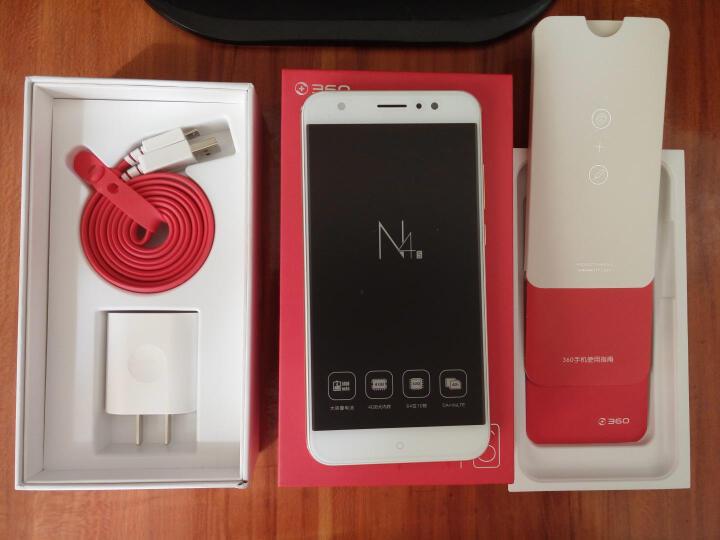 360手机 N4S 全网通版 流光金 4GB+32GB 移动联通电信4G手机 双卡双待 晒单图