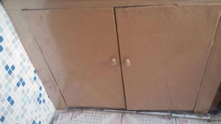 【第三颗钻石】厨房壁橱晶钢门贴膜墙贴橱柜门贴纸光面闪亮碎星装饰浴室贴膜墙纸 胭脂红60cm*0.5米长 晒单图