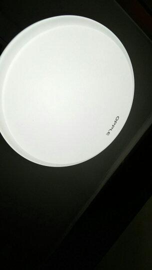 欧普照明led吸顶灯具客厅灯饰阳台灯简约现代家用圆形房间 卧室灯 40cm双色卧室+17cm阳台灯 晒单图