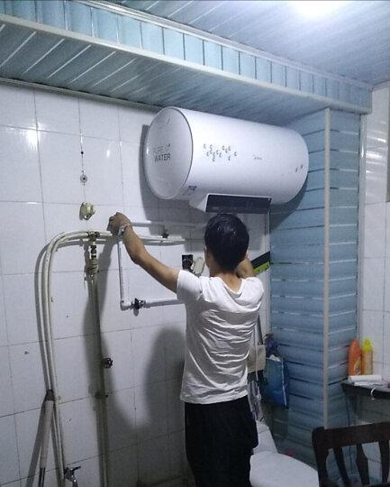 美的(Midea)80升双管速热 遥控预约 一级能效节能星 8年包修 防电墙电热水器 F80-21WB1(E) 晒单图