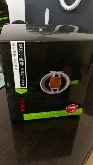 Mings铭氏 曼特宁挂耳咖啡粉10g*10包 咖啡豆研磨手冲滴漏式纯黑咖啡 晒单图