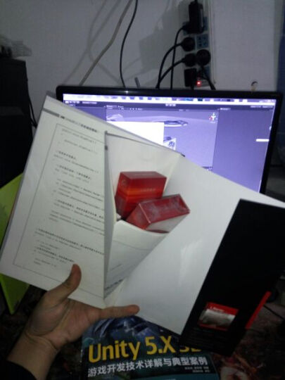 区域包邮Unity3D人工智能编程精粹+Unity 5.X 3D游戏开发技术详解与典型案例 晒单图