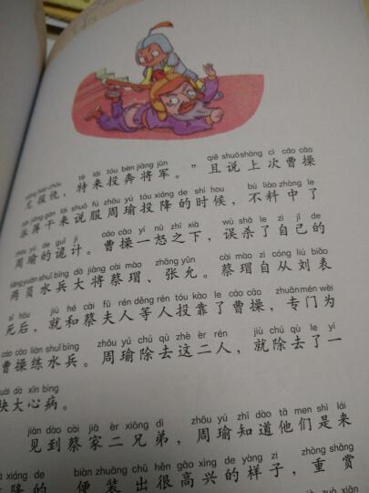 三国演义(无障碍彩绘注音版)/语文新课标分级阅读丛书 晒单图