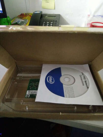 英特尔(Intel) PRO/1000 PT EXPI9400PT千兆服务器网卡82572芯片网卡 晒单图