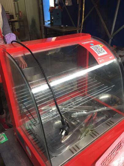 保温柜商用食品台式展示柜家用保温箱饭菜蛋挞保温柜 三层黑色(960*460*620) 晒单图