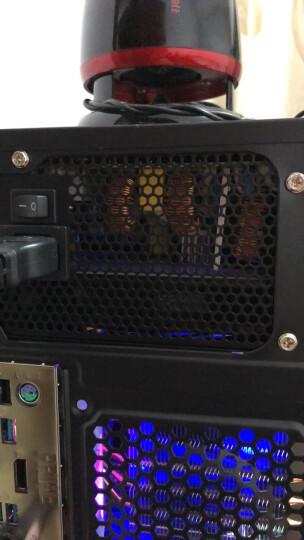 航嘉(Huntkey)金牌650W K650电源(游戏专用/80PLUS金牌/单路54A/半模组/14CM大风扇/LLC谐振/背部走线) 晒单图
