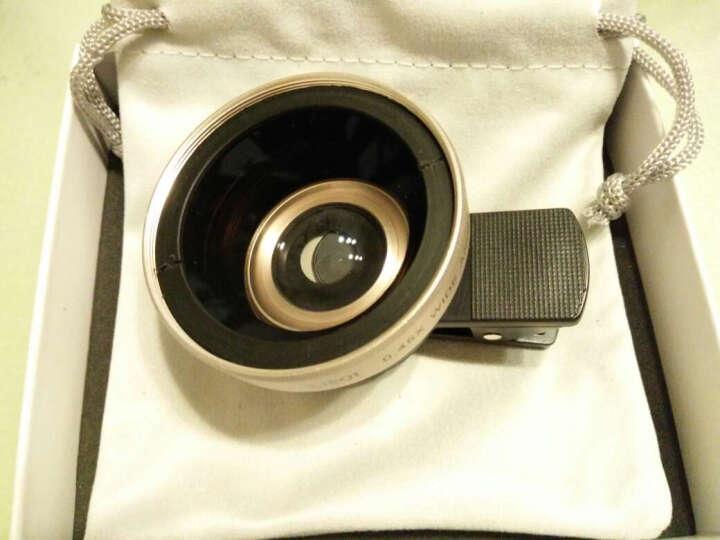 小天手机镜头超广角微距拍照神器套装通用单反外置摄像头安卓苹果通用 奇趣标配版-【金色】二合一 晒单图