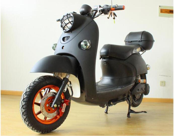 酷科奇 小龟王电动车摩托车踏板电动车60V72V男女款电动自行车电摩电瓶车 Kitty猫 72V超威或天能电池 晒单图