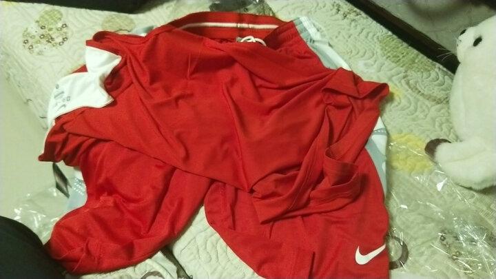 耐克NIKE运动套装Team Sale男子篮球服篮球短裤篮球训练套装 703215 703216 红白篮球套装-611 L 晒单图