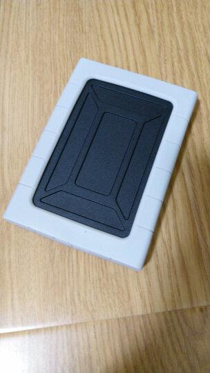奥睿科(ORICO)移动硬盘盒USB3.0 2.5英寸笔记本台式机SATA串口外置盒子 三防硅胶保护套/防震套 银色2539U3 晒单图