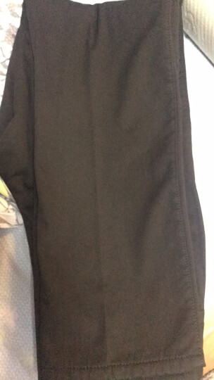 南极人 2019夏季薄款纯棉休闲裤男免烫宽松直筒中年男裤商务休闲长裤男装裤子春秋新款 37#藏蓝色(加绒) 33(2.6尺) 晒单图