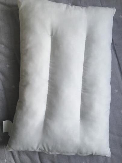 雅鹿 枕头 羽丝绒枕芯可水洗学生枕头芯 秋蟹红 一对装套装(枕头+枕套) 晒单图