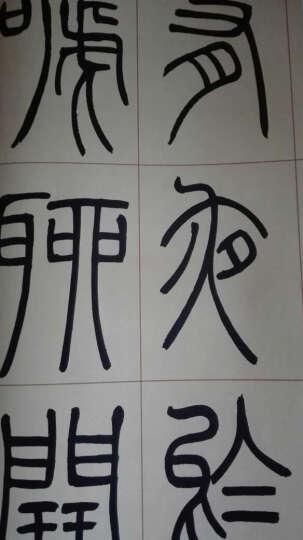 吴让之篆书庾信诗(彩色放大本中国著名碑帖·第五辑) 晒单图