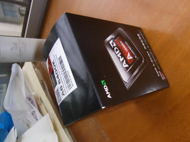 AMD APU系列 A6 7400K 搭华硕A68HM-K主板+宇瞻1600 4G内存条 三件套 晒单图
